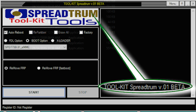 SPD FRP Remover Tool - V0.1 | Spreadtrum Tool Kit | Free Download