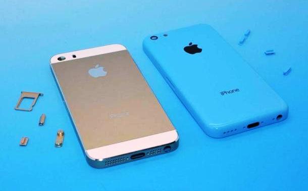 new iPhone 5C vs iPhone 5S 2013