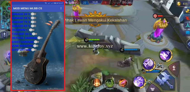 Download APK MOD Menu VIP Mobile Legends Patch Terbaru