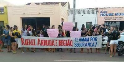 Moradores do distrito de Rafael Arruda aguardam reforço na segurança
