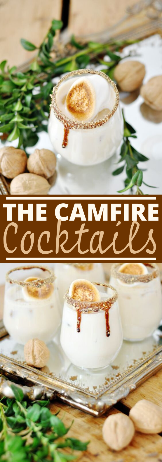 The Campfire Cocktail #drinks #cocktails #alcohol #milk #winter