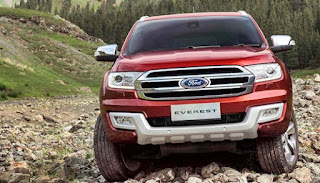 2019 Ford Everest Reviews Exterior