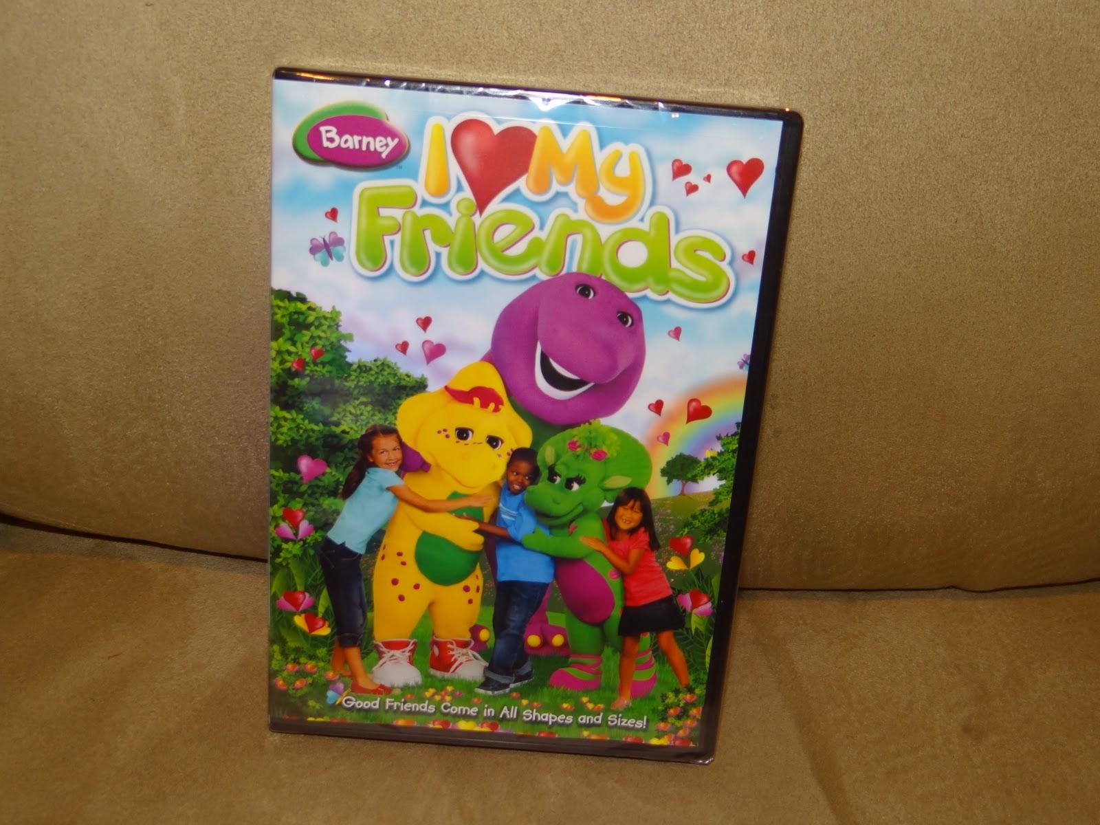 Wordless Wednesday: Barney Love!! - The Mommyhood Chronicles
