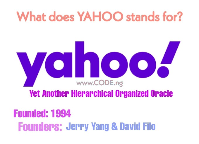 The Full Form of YAHOO, What YAHOO Stands For
