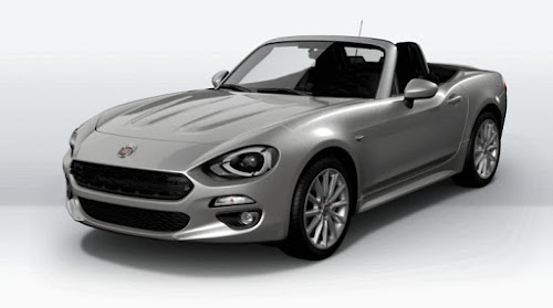 European Fiat 124 Spider Lusso Model