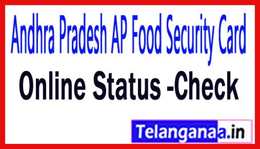 Andhra Pradesh AP Ration Card Food Security Card Online Details epdsap.ap.gov.in