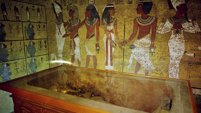 The tomb of the world-famous Pharaoh Tutankhamun