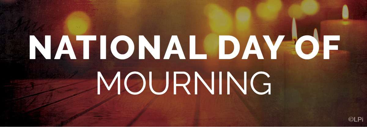 National Day of Mourning Wishes Sweet Images