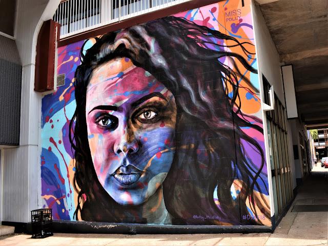 Darwin Street Art Festival 2018   Portrait by Polly Johnson