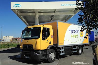 Renault Trucks D WIDE NGV, La Poste
