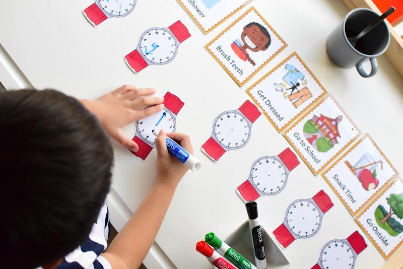 Human Body Preschool Mini Unit: YOUR DAILY ROUTINE