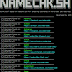 Namechk - Osint Tool Based On Namechk.Com For Checking Usernames On More Than 100 Websites, Forums And Social Networks