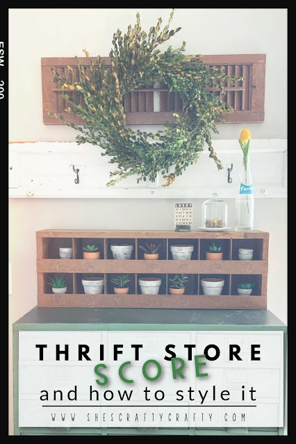 Thrift Store Score- February thrifted finds and how to style them.