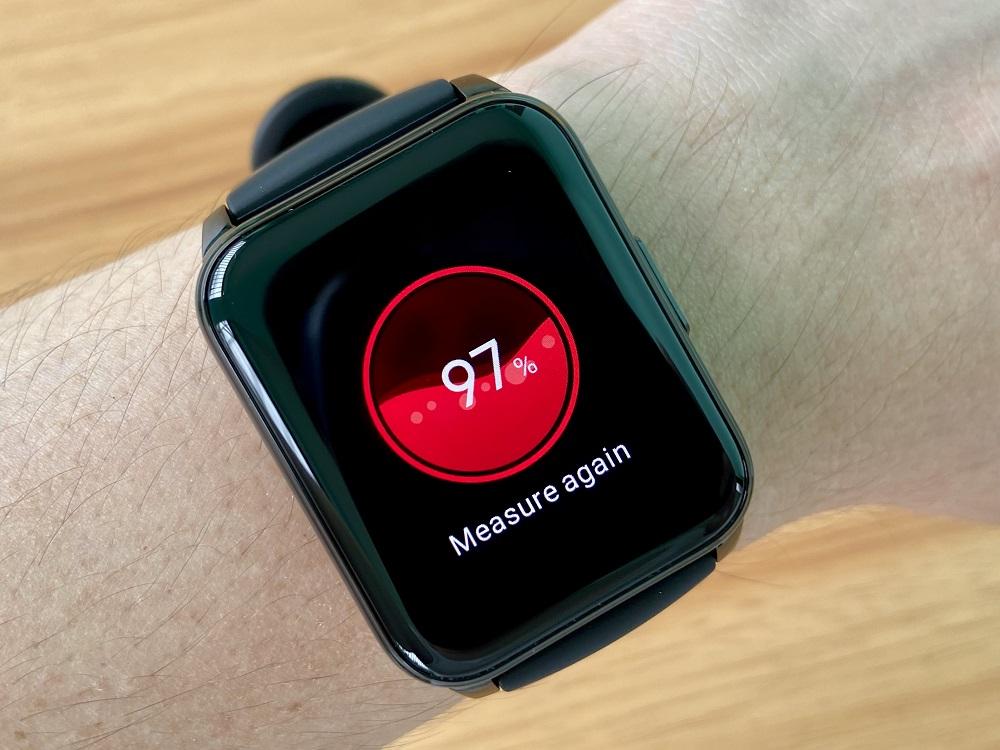 realme Watch 2 Oxygen Monitor