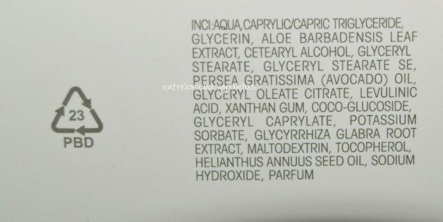 ingredientes limpiadora 5 en 1 biomed organic