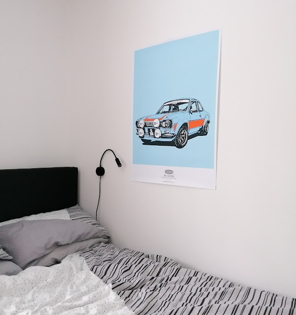 Industry and supply co ford escort mk1 print