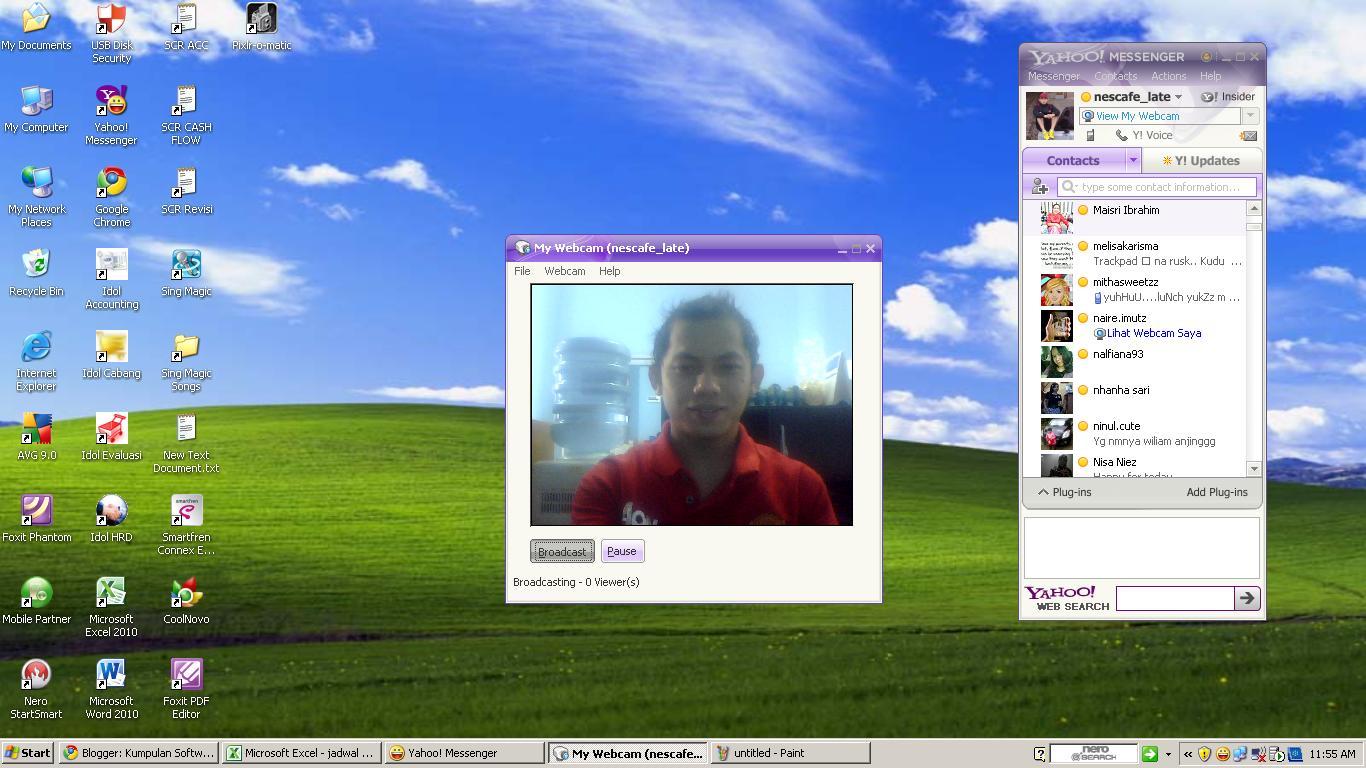 Webcam yahoo messenger brazil