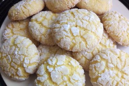 Resep Cookies Butter Lemon
