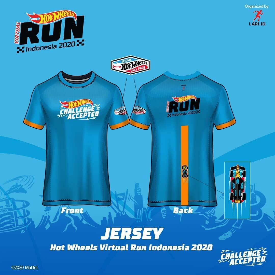 Jersey - Hot Wheels Virtual Run - Indonesia • 2020