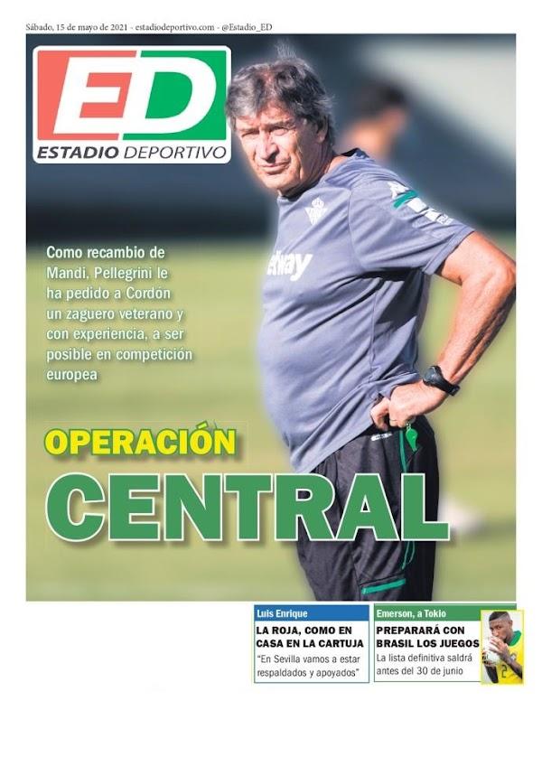 "Betis, Estadio Deportivo: ""Operación central"""