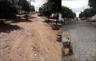 Em Picuí, prefeitura conclui pavimentação de mais duas ruas