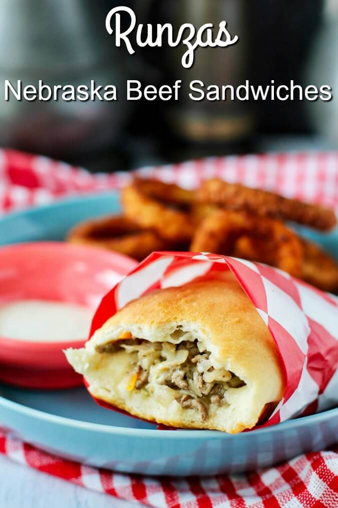 Nebraskan Runzas or bierocks