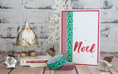 Fast and Fabulous Christmas Cards using Washi Tape from Stampin' Up! UK