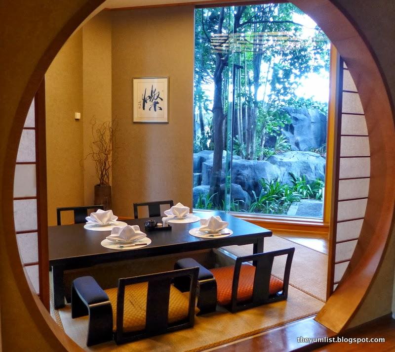 Japanese Dining Room: Iketeru, Hilton Kuala Lumpur Hotel, Malaysia