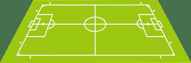 Campo de Propulsive Football (PROBALL), Regla de la línea central.