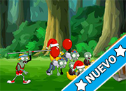 Shooter vs Zombies Online juego