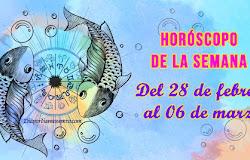 🪐 Horóscopo de la semana: Del 28 de febrero al 06 de marzo