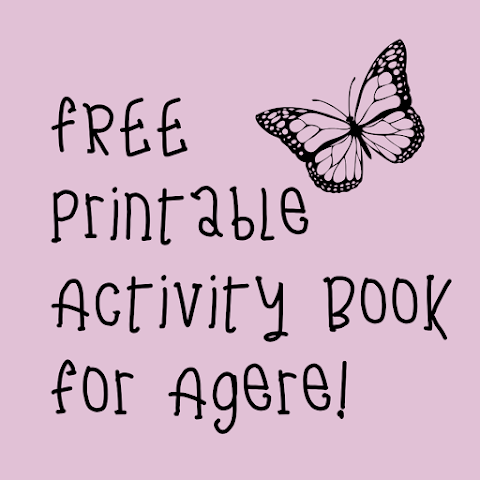 FREE Printable Spring Activity Book for Age Regression!
