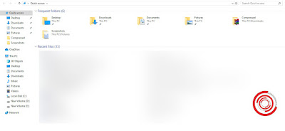 1. Langkah pertama untuk melihat ukuran folder di Windows sangat mudah sekali. Langkah pertama silakan kalian buka File Explorer kemudian cara folder yang akan di cek ukurannya