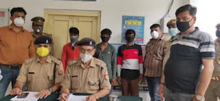 एसओजी टीम एवं सर्विलांस सेल द्वारा आलाकत्ल के साथ अभियुक्त गिरफ्तार                                                              Accused-arrested-by-SOG-team-and-surveillance-cell     jalaun news      संवाददाता, Journalist Anil Prabhakar.                 www.upviral24.in