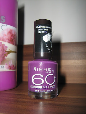Rimmel 60 seconds 605 Purple Reign - 4,99 zł !!!