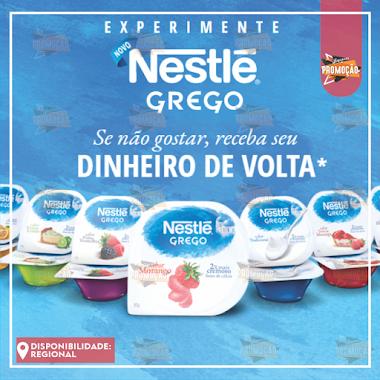 Promoção Experimente NOVO Nestlé Grego