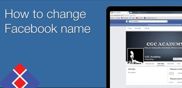 steps to change name on facebook