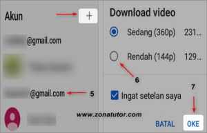 Cara Menyimpan Video Dari Youtube Ke Galeri Hp Android