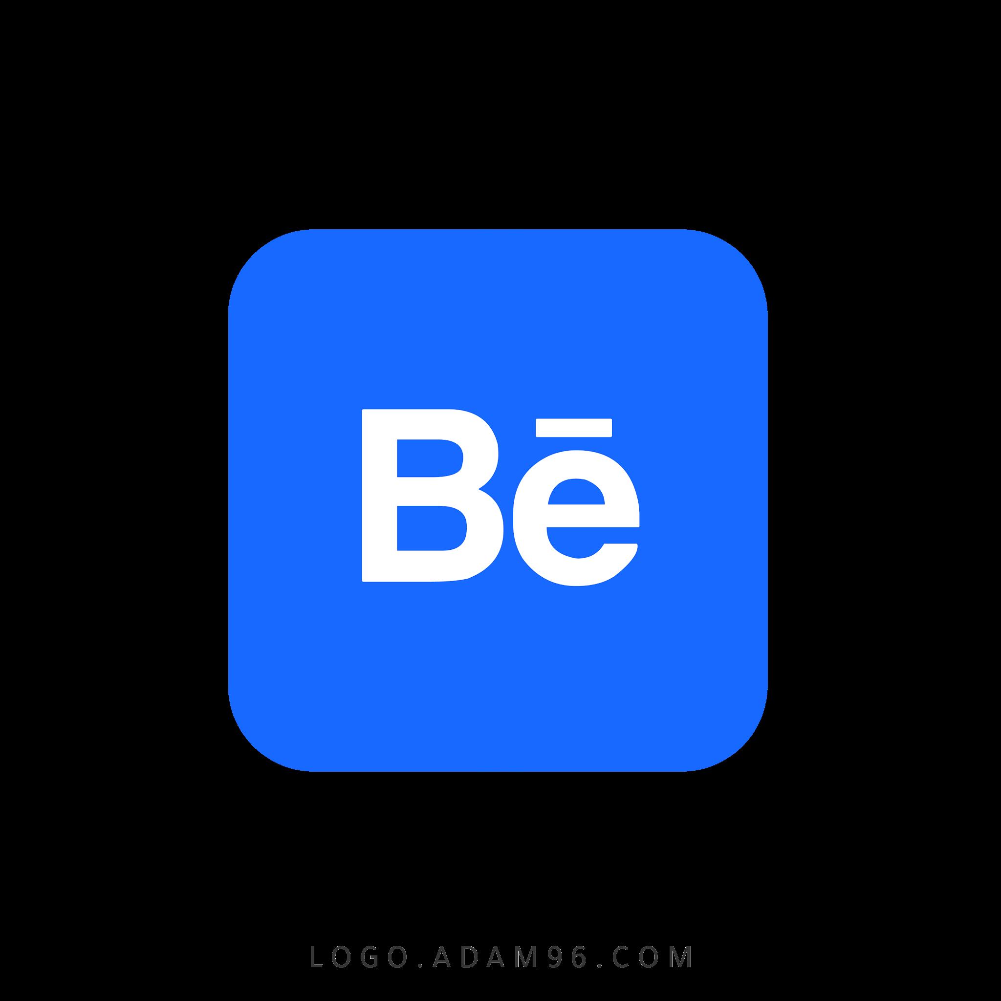 تحميل ايقونة موقع بيهانس شفافة   Logo Behance Png