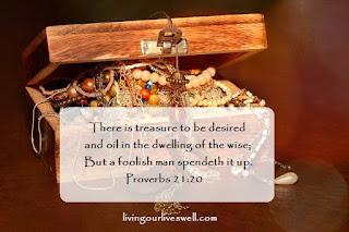 Proverbs 21:20