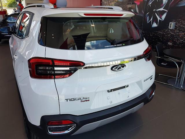 Novo  Caoa Chery Tiggo 5X 2021 - Branco