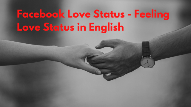 Facebook Love Status - Feeling Love Status in English