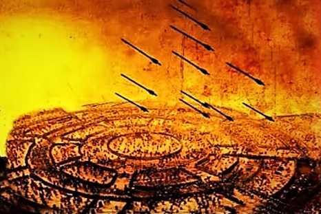 মহাভারতের-যুদ্ধে-চক্রব্যূহ