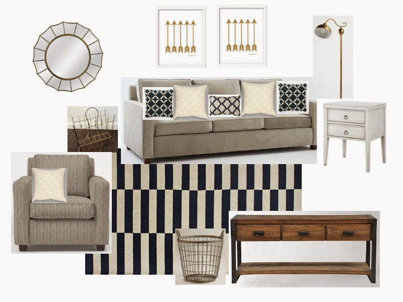 Mood Board Natural And Navy Living Room Little House Of Four Creating A Beautiful Home