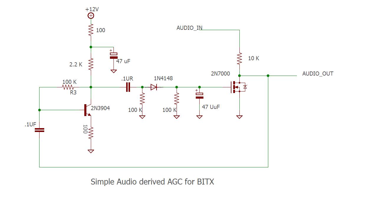 simple audio agc circuit