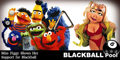 blackball pool muppets