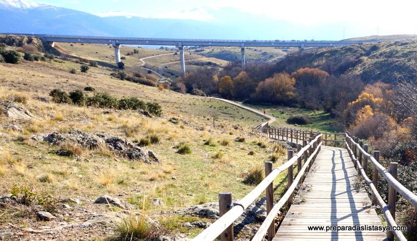 Paseo Palazuelos Segovia
