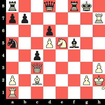 Les Blancs jouent et matent en 2 coups - William Evans vs Alexander MacDonnell, Londres, 1826