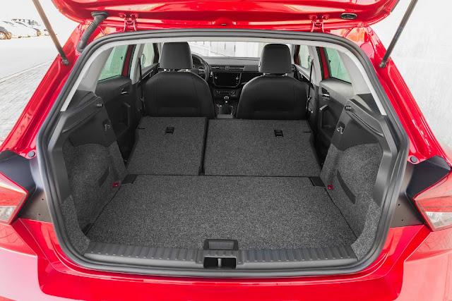 Novo Ibiza 2018 - porta-malas de 355 litros