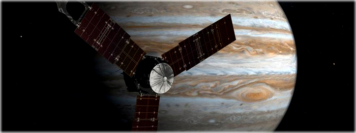 Juno chega em Júpiter